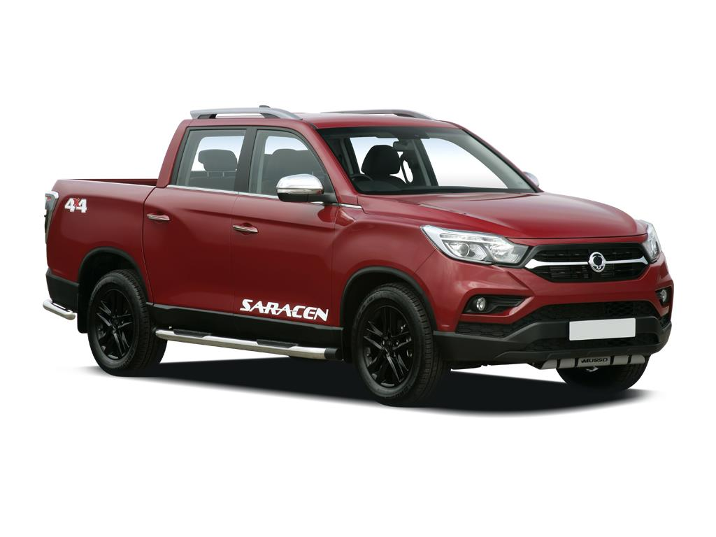 Ssangyong Musso Diesel Double Cab Pick Up Rebel 4dr Auto Awd